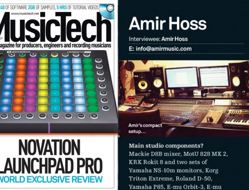 MusicTech Magazine Interview